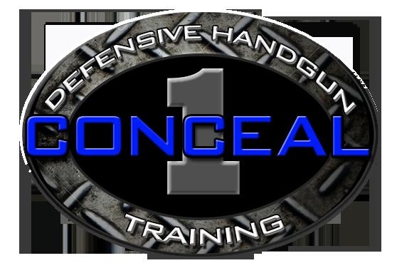 conceal 1 defensive handgun training logo
